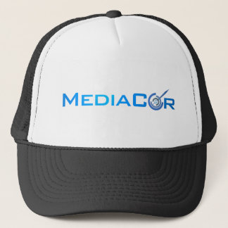 Large MediaCor Flat Trucker Hat