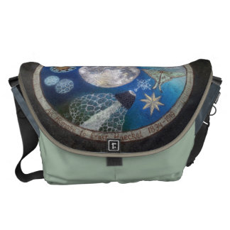Large Messenger Bag Outside Print