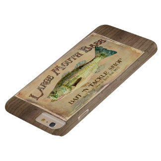 Large Mouth Bass Bait n Tackle Lake Decor Barely There iPhone 6 Plus Case