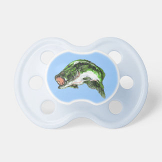 Large mouth Bass Pacifier
