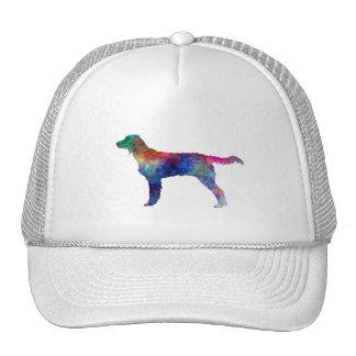 Large Munsterlander in watercolor Trucker Hat