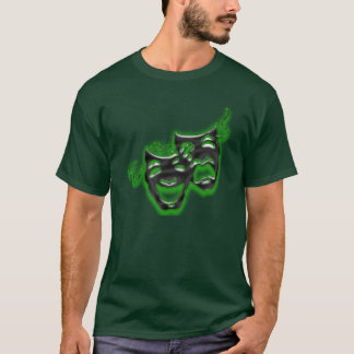 Large Neon Green Masks Long Sleeve T T-Shirt