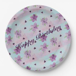 Large Paper Birthday Party Plates 9 Inch Paper Plate