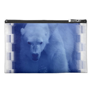 Large Polar Bear Accessories Bag