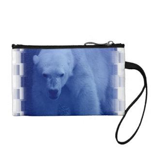 Large Polar Bear Coin Purse