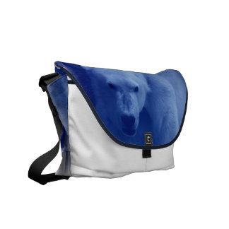 Large Polar Bear Messenger Bag