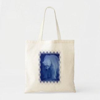 Large Polar Bear Small Tote Bag
