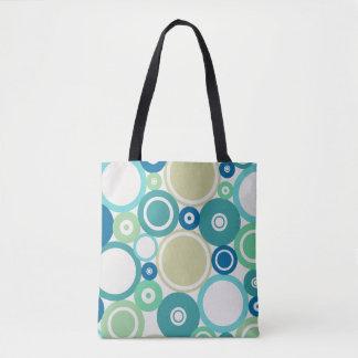 Large Polka Dots Beach theme Tote Bag