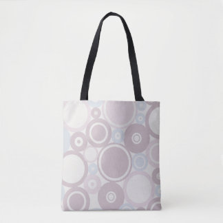 Large Polka Dusty Pink theme Tote Bag