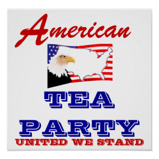 Large Poster TEA PARTY!!
