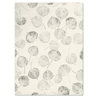 Large Prints of Trembling Aspen Leaf Pattern Tissue Paper