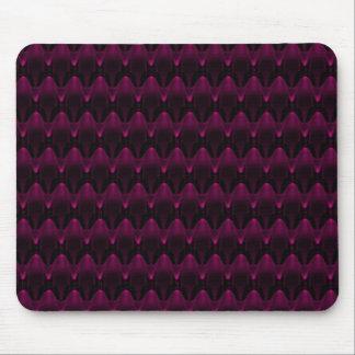 Large Purple Neon Alien Head Pattern Mouse Pad