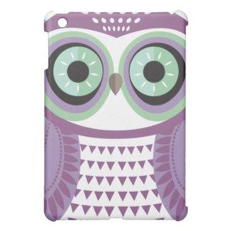 Large Purple Owl Cloud iPad Case