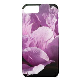 Large Purple Peony Flower iPhone 8/7 Case