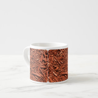 Large Red Cedar Mulch for Landcape Designer Espresso Cup