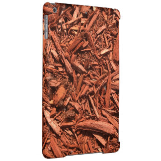 Large Red Cedar Mulch for Landcape Designer iPad Air Cover