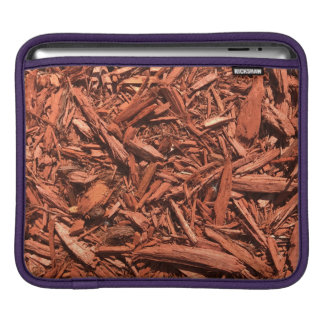 Large Red Cedar Mulch for Landcape Designer iPad Sleeve
