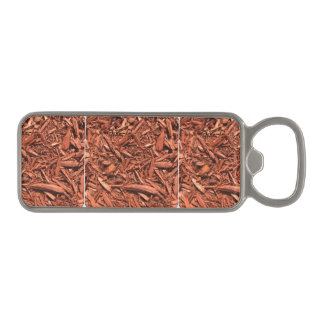 Large Red Cedar Mulch for Landcape Designer Magnetic Bottle Opener