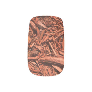 Large Red Cedar Mulch for Landcape Designer Minx Nail Art