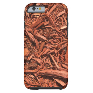 Large Red Cedar Mulch for Landcape Designer Tough iPhone 6 Case