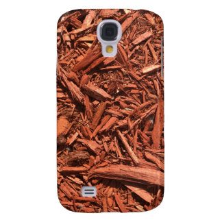 Large red cedar mulch pattern landscape contractor