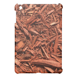 Large red cedar mulch pattern landscape contractor iPad mini cases