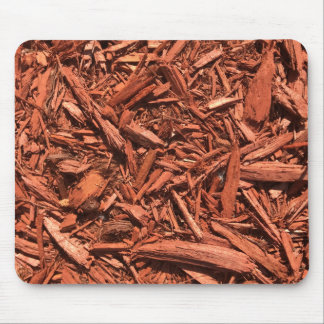 Large red cedar mulch pattern landscape contractor mouse pad