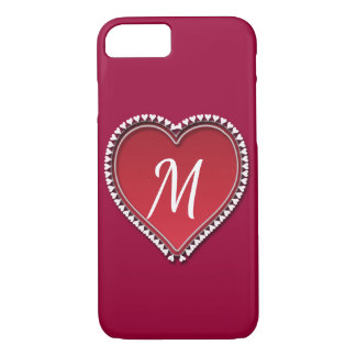 Large Red Heart iPhone 8/7 Case