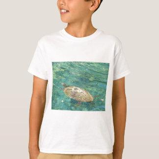 large river turtle swimming T-Shirt