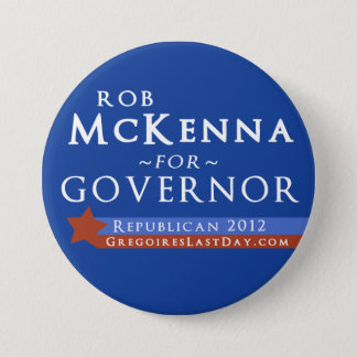 Large Rob McKenna for Governor 2012 Button