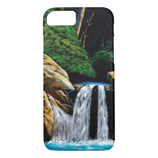 Large rock and cascade iPhone 8/7 case