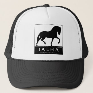 Large Silhouette Logo Trucker Hat