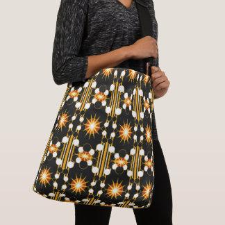 Large-Sized Tote Bag Modern Geometric #2 Smaller