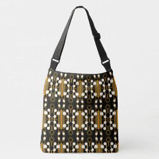 Large-Sized Tote Bag Modern Geometric #3