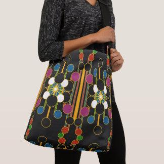 Large-Sized Tote Bag Modern Geometric #4