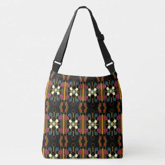 Large-Sized Tote Bag Modern Geometric #4 Smaller P