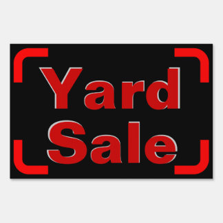 Large Small Sale Yard Sign