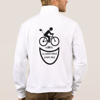 """""""Large smile every mile"""" custom jackets for men"""