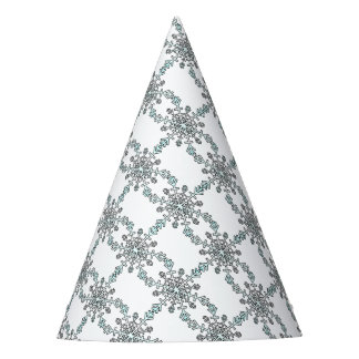 Large Snowflake Party Hat