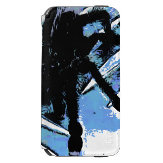 Large spider on metal surface incipio watson™ iPhone 6 wallet case