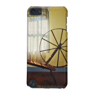 Large Spinning Wheel Near Lace Curtain iPod Touch (5th Generation) Cover