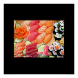 Large Sushi Variety Real US Gorgeous Poster