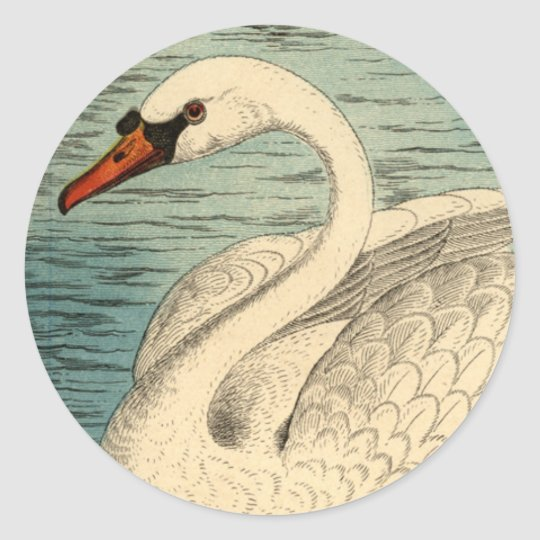 Large Swan Stickers