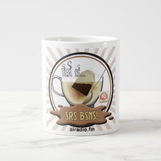 Large Tea is Srs Bsns Mug