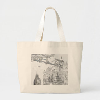 Large Tote Bag - Icons of London