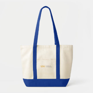 Large Tote - Gold/Grey iSchool Logo