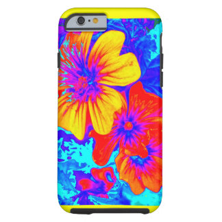 Large Tropical Flowers by Sharles Tough iPhone 6 Case