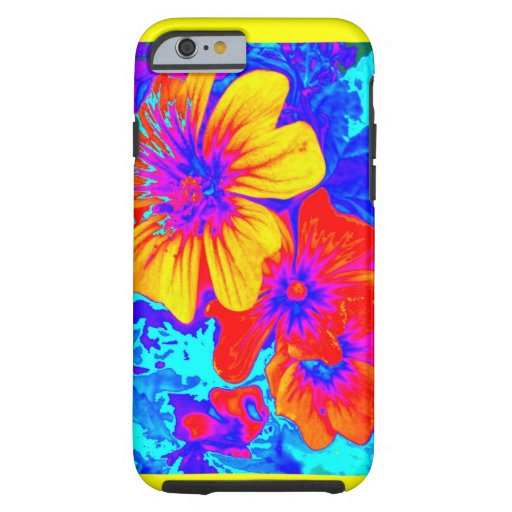 Large Tropical Flowers by Sharles iPhone 6 Case