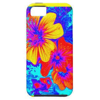 Large Tropical Flowers by Sharles iPhone 5 Cover