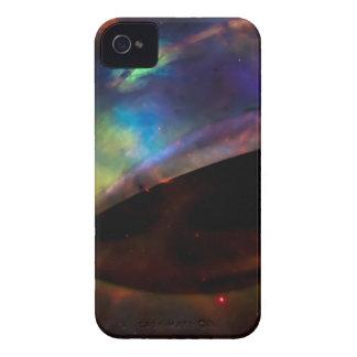 Large UFO with Nebula iPhone 4 Case-Mate Case